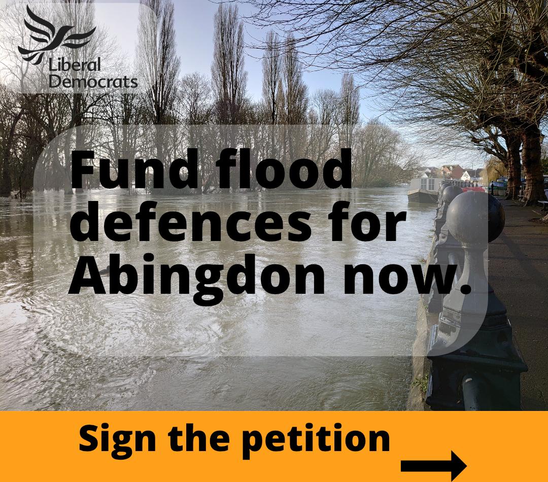 Bring back the Abingdon Flood Alleviation Scheme