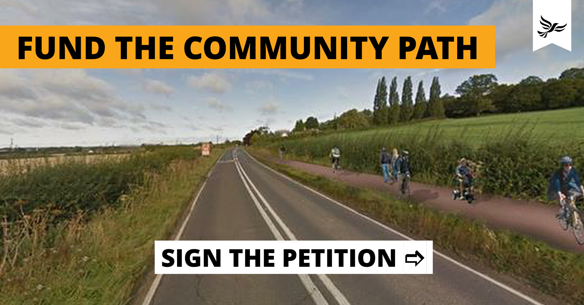 Fund the Community Path Now 🚲