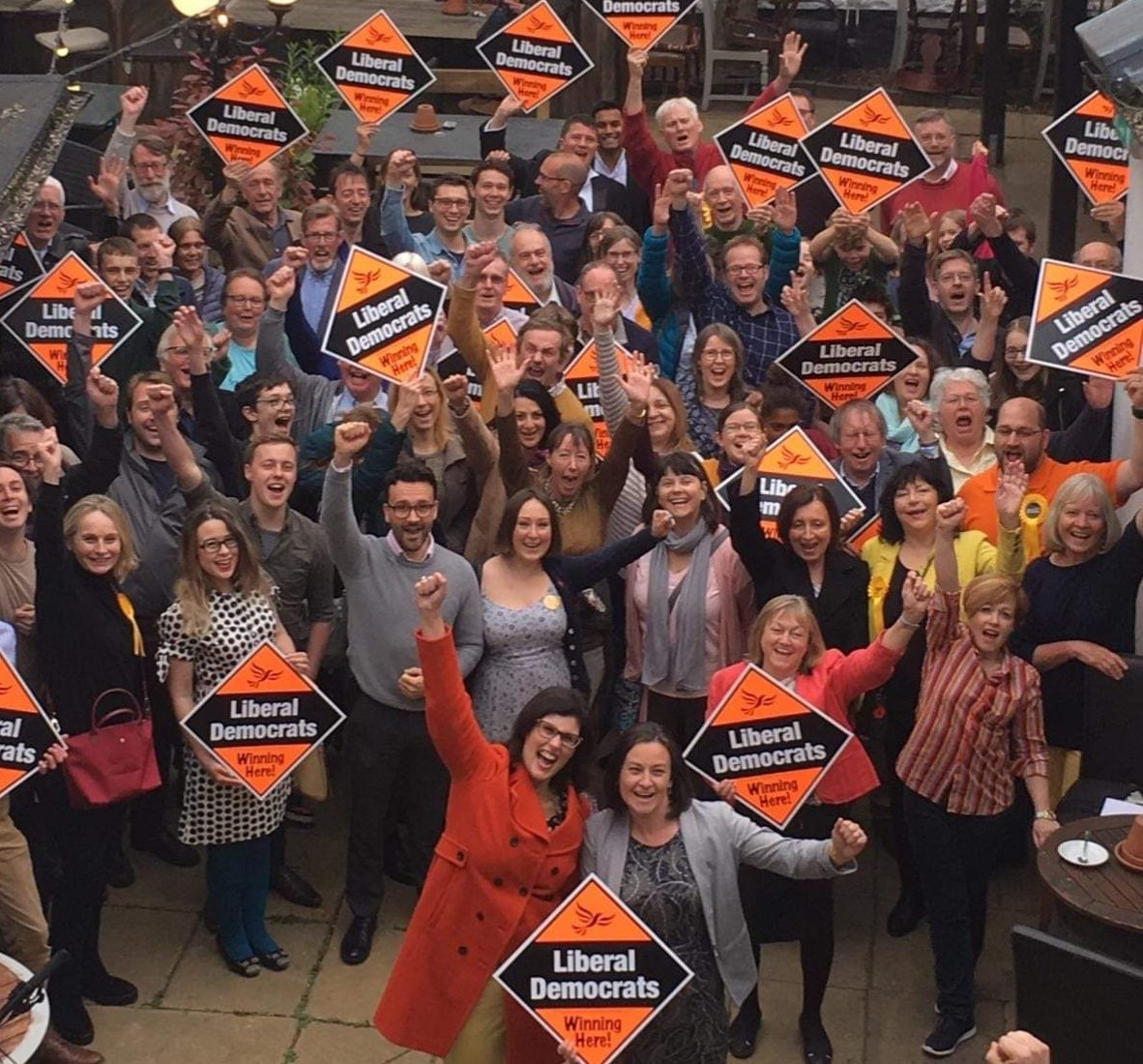 Stunning victories for Liberal Democrats across Oxfordshire!