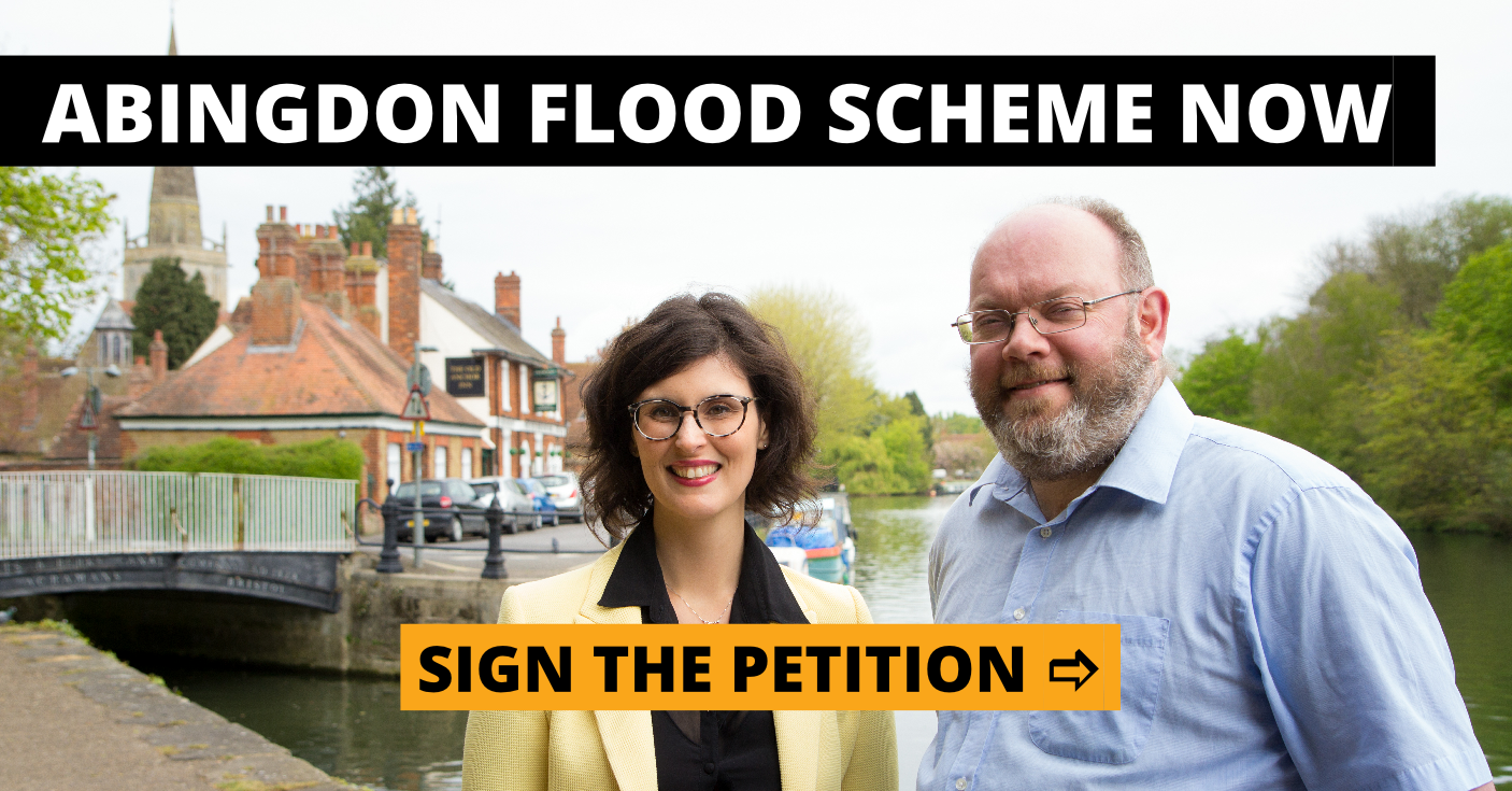 Abingdon Flood Scheme Now