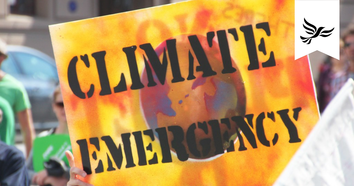 Vale Liberal Democrats are tackling the Climate Emergency