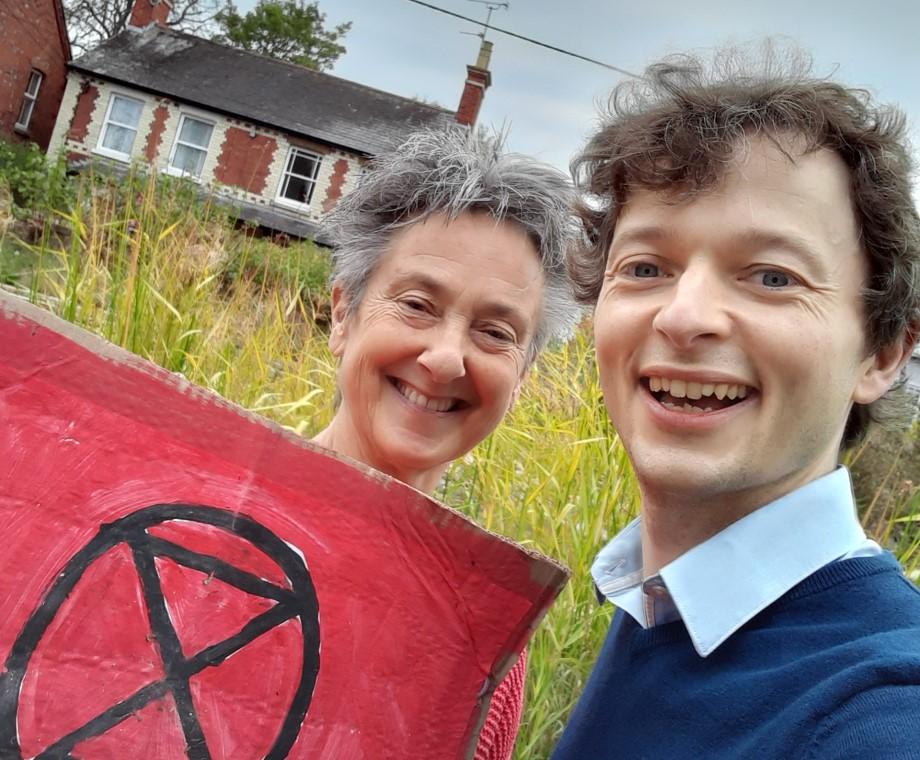 Wantage Greens back Richard Benwell