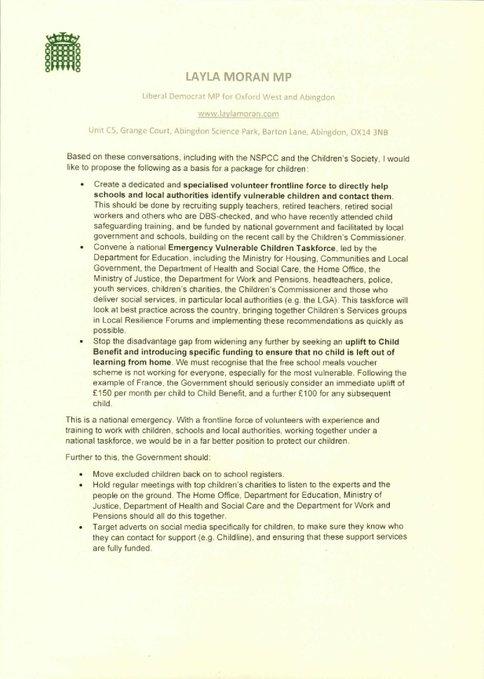 Letter to Gavin Williamson MP_2