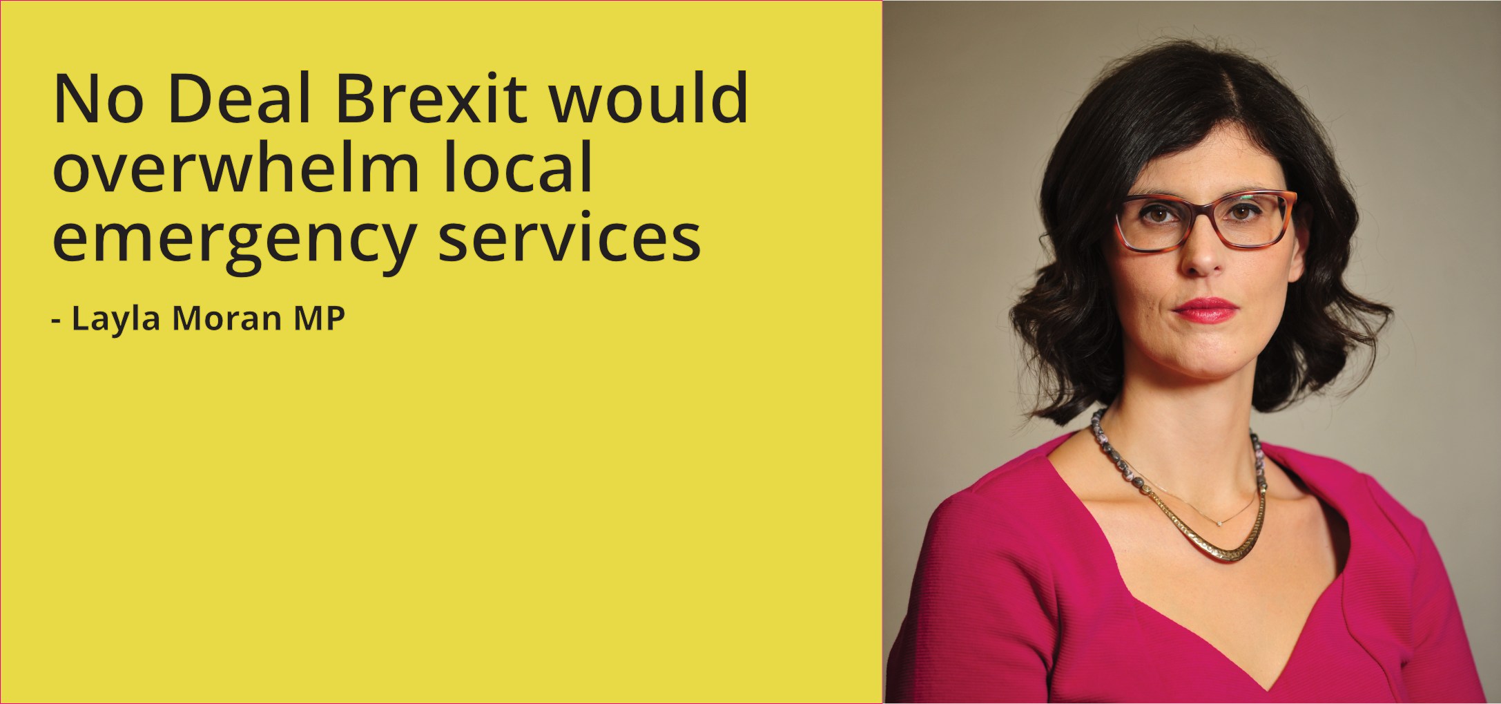 No Deal Brexit would overwhelm local emergency services