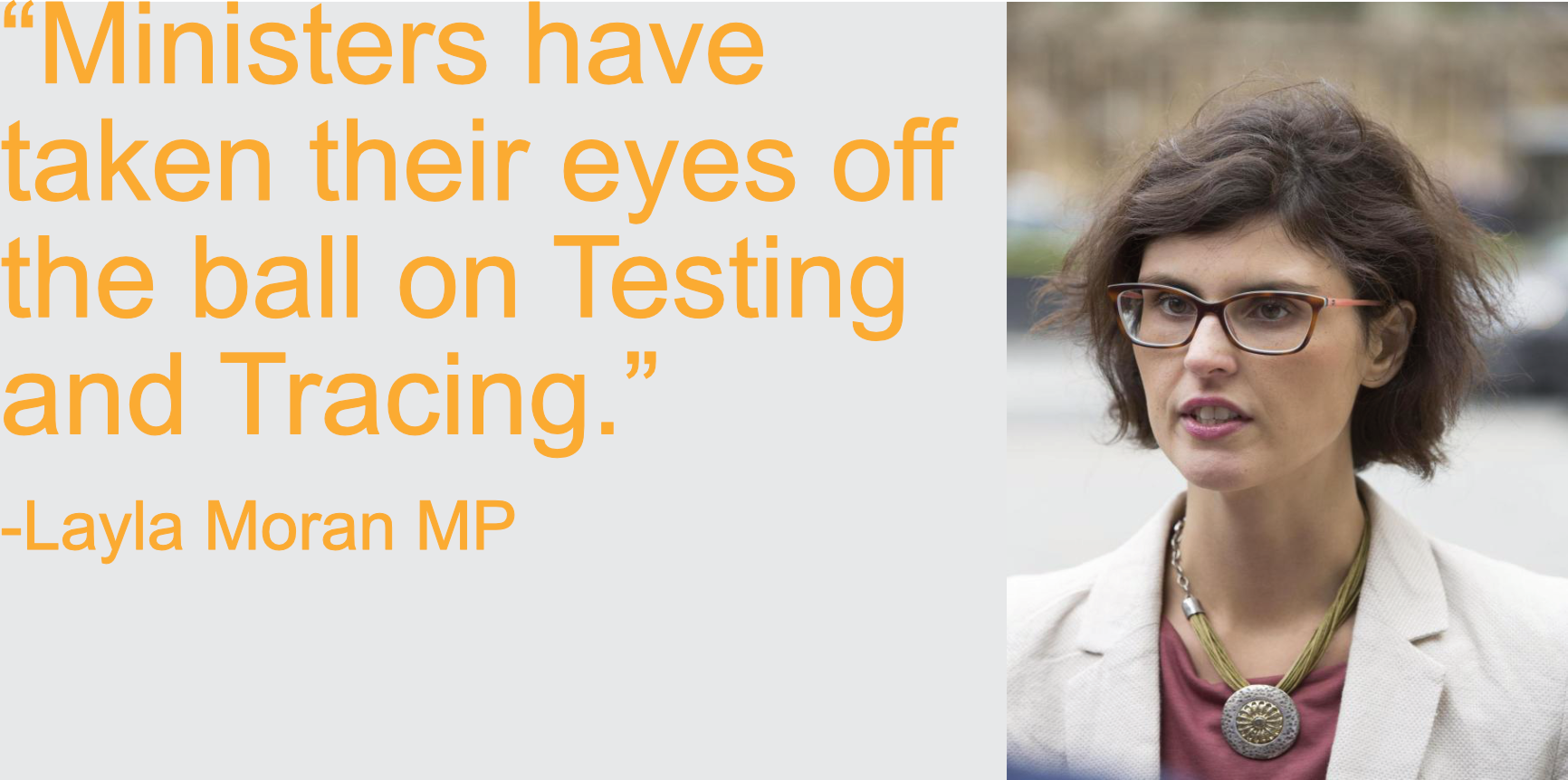 Testing and tracing : Ministers have taken their eyes off the ball