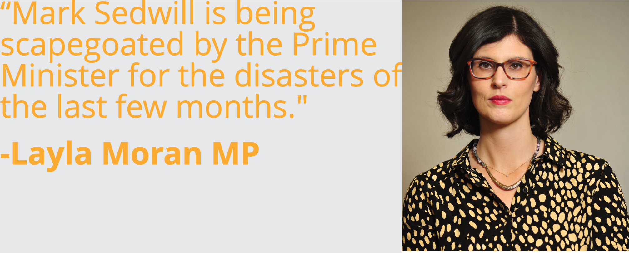 Mark Sedwill is being scapegoated by the Prime Minister for the disasters of the last few months.