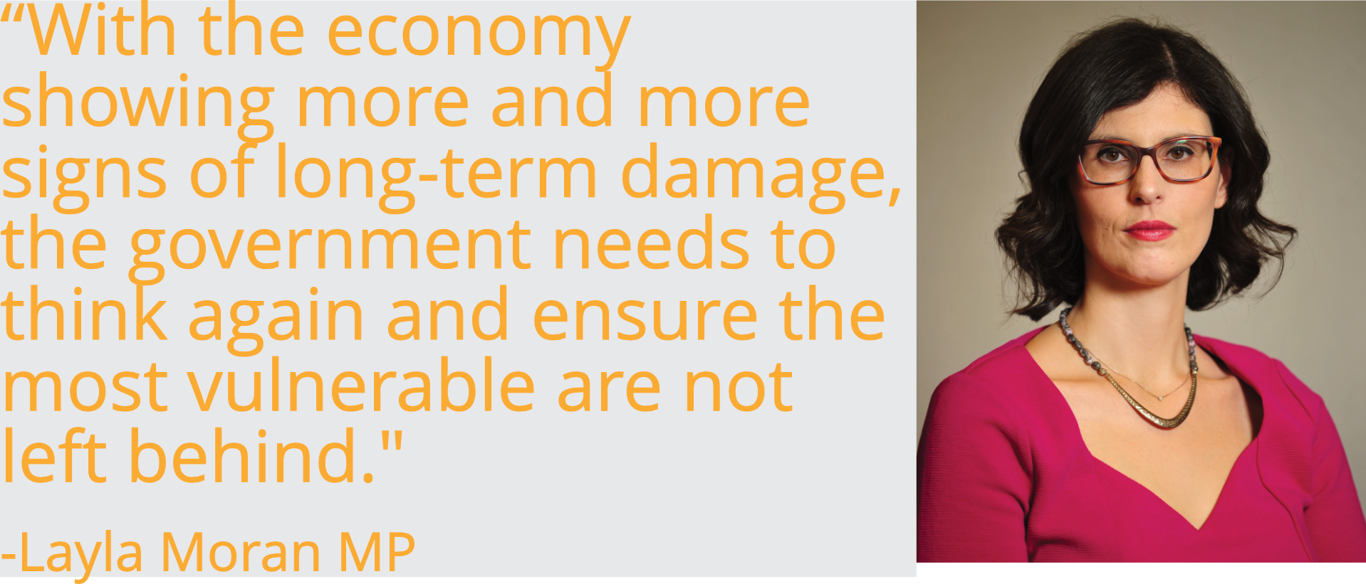 With the economy showing more and more signs of long-term damage, the government needs to think again and ensure the most vulnerable are not left behind.