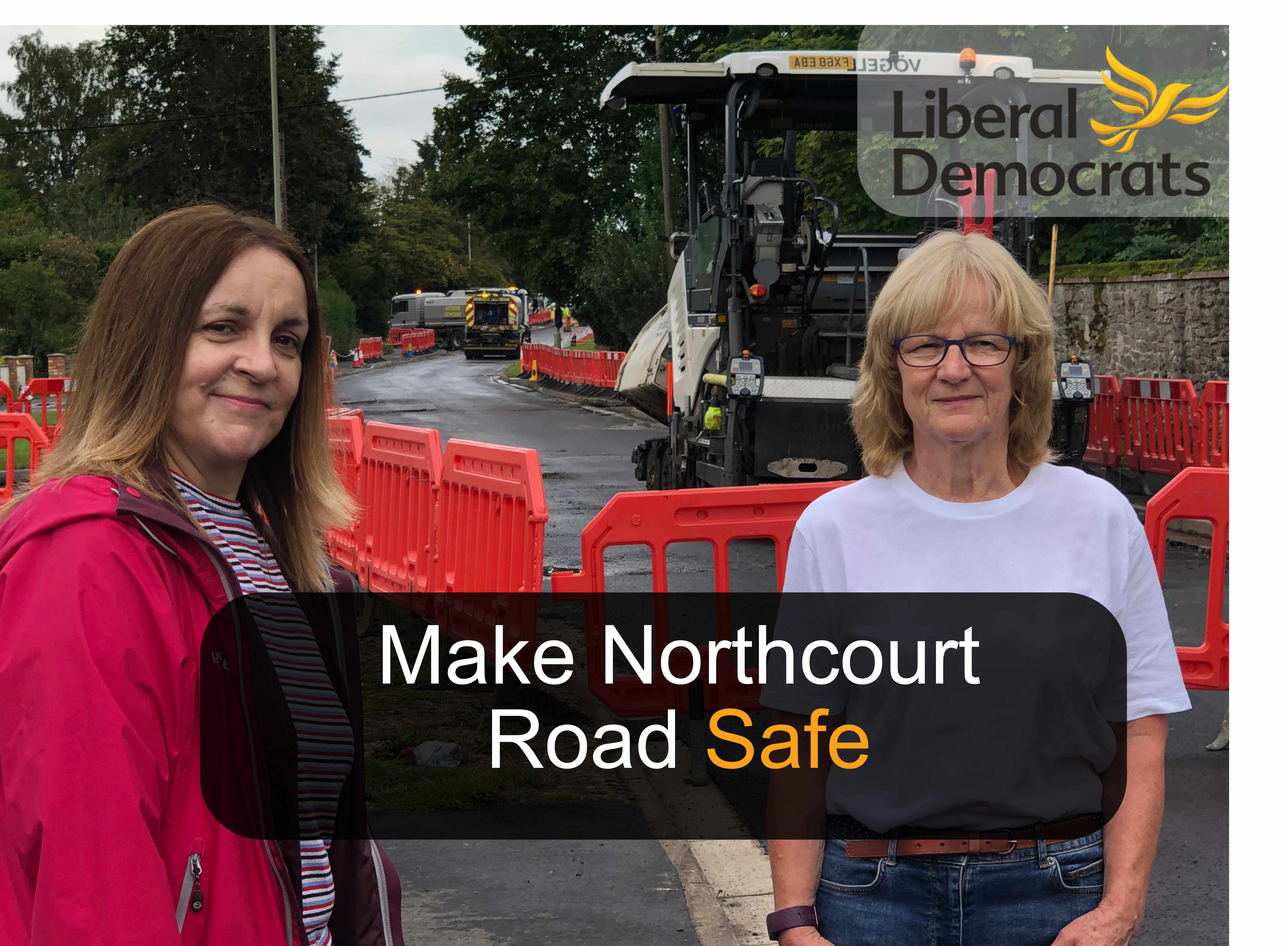 Northcourt Road Crossing and Safety