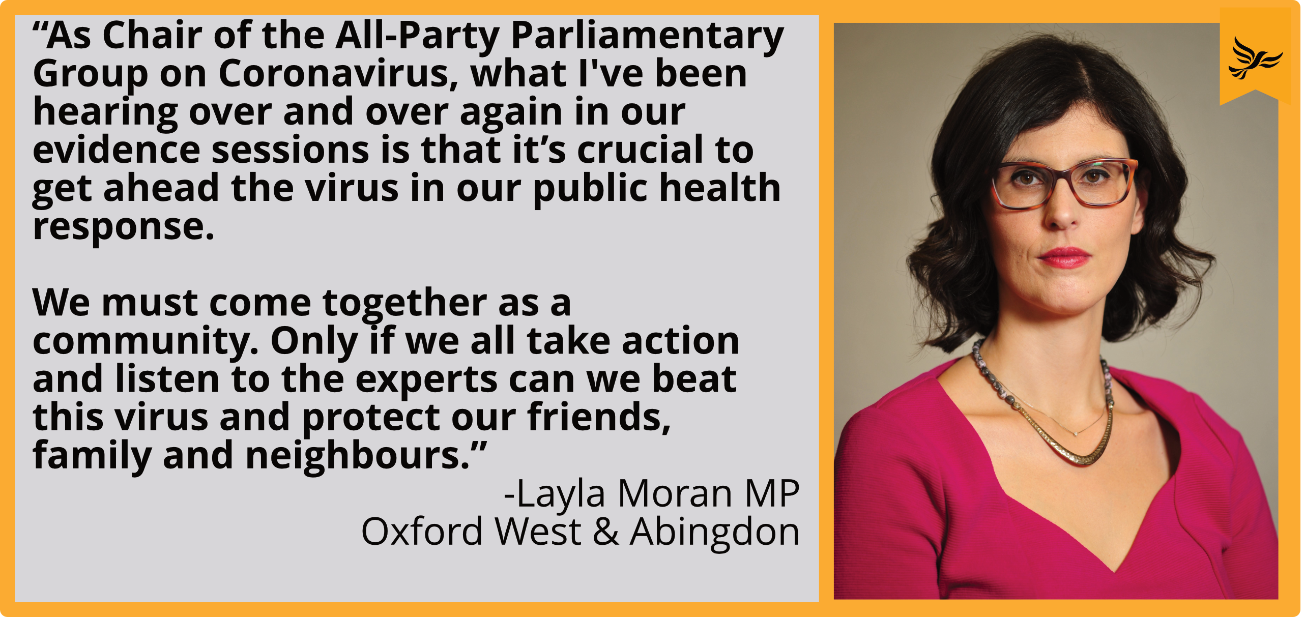 Key_Layla Moran responds to councillors' calls for Oxfordshire to move to Tier 2
