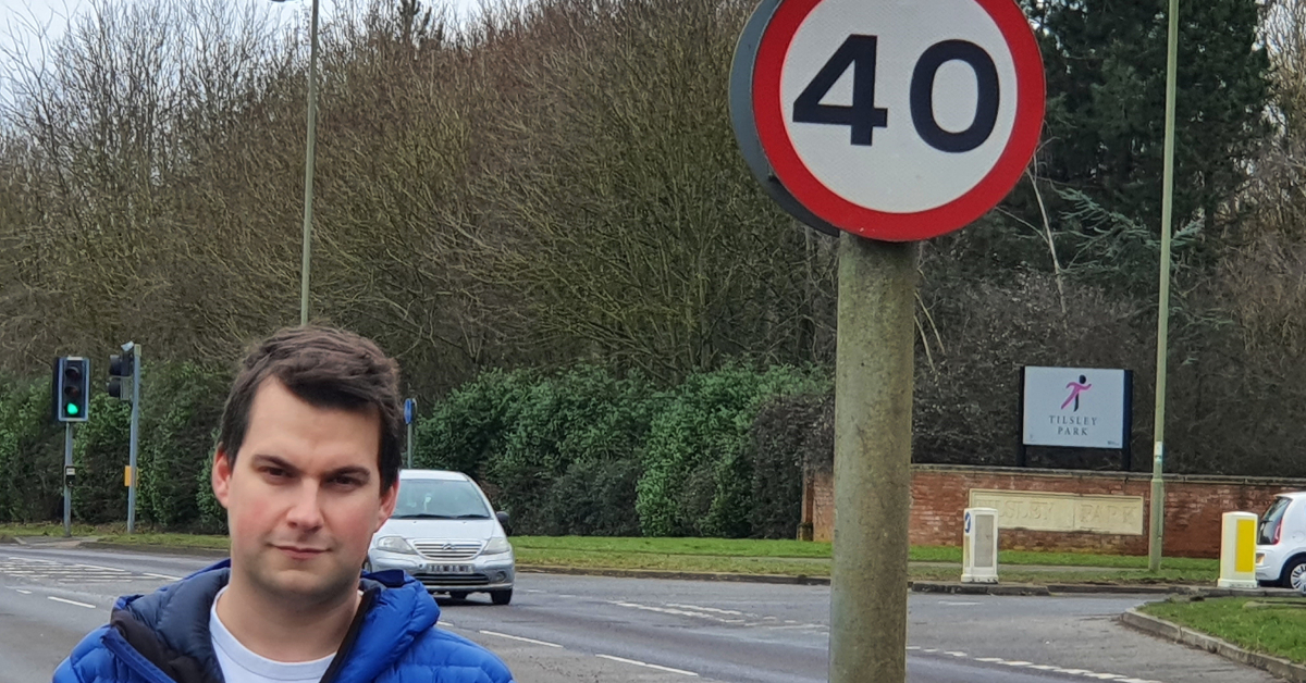 30mph limit for North Abingdon