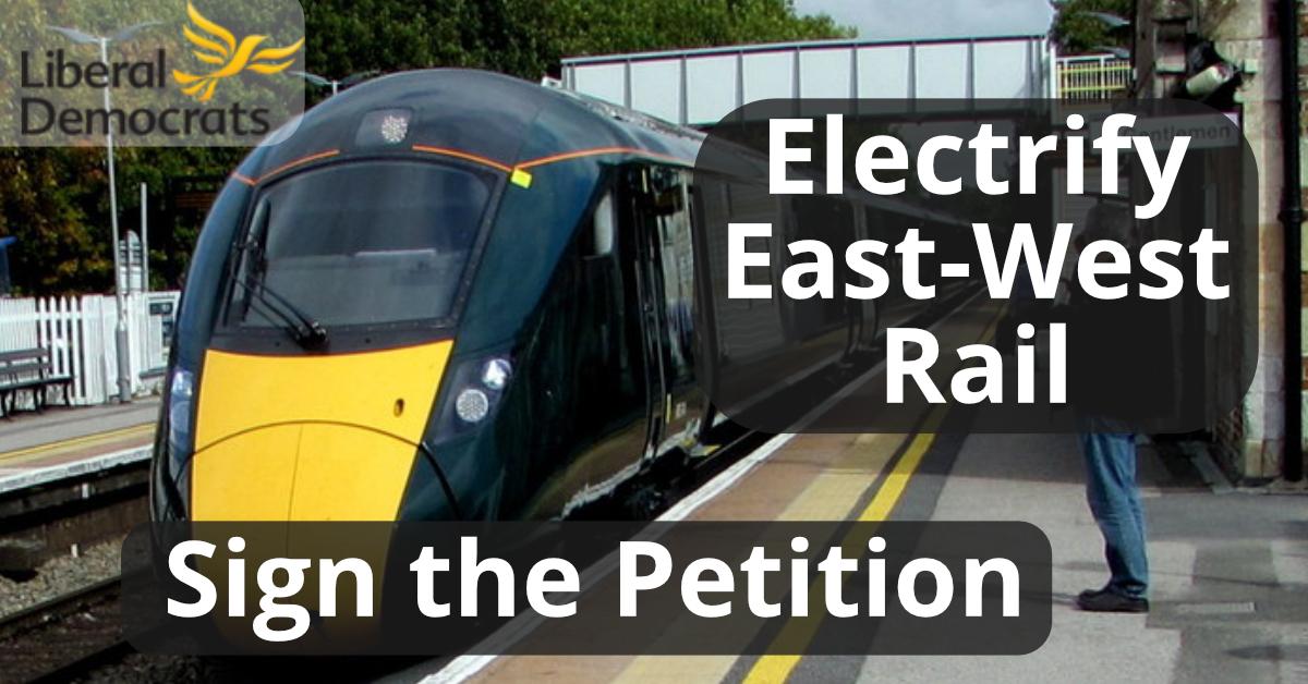 Electrify East-West Rail