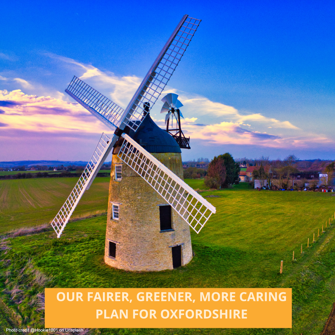 Fairer Greener More Caring Oxfordshire