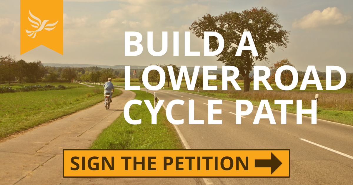Build a Lower Road Cycle Path Now
