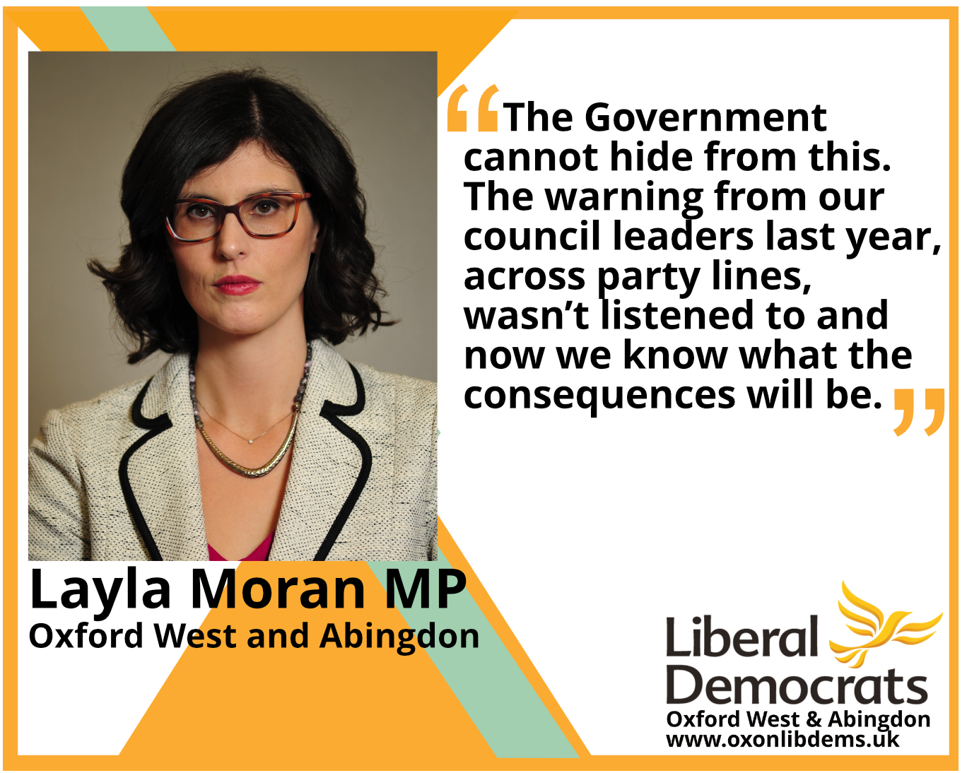 Everything from our leisure and community arts centres to adult social care is under threat because of the financial shortfall and the sheer uncertainty.