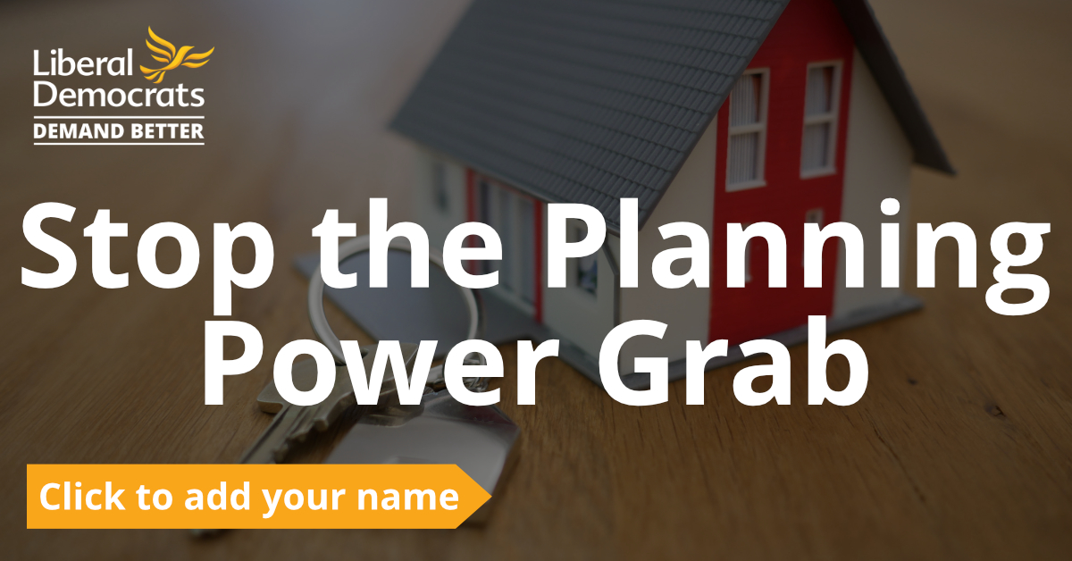 Stop the Planning Power Grab