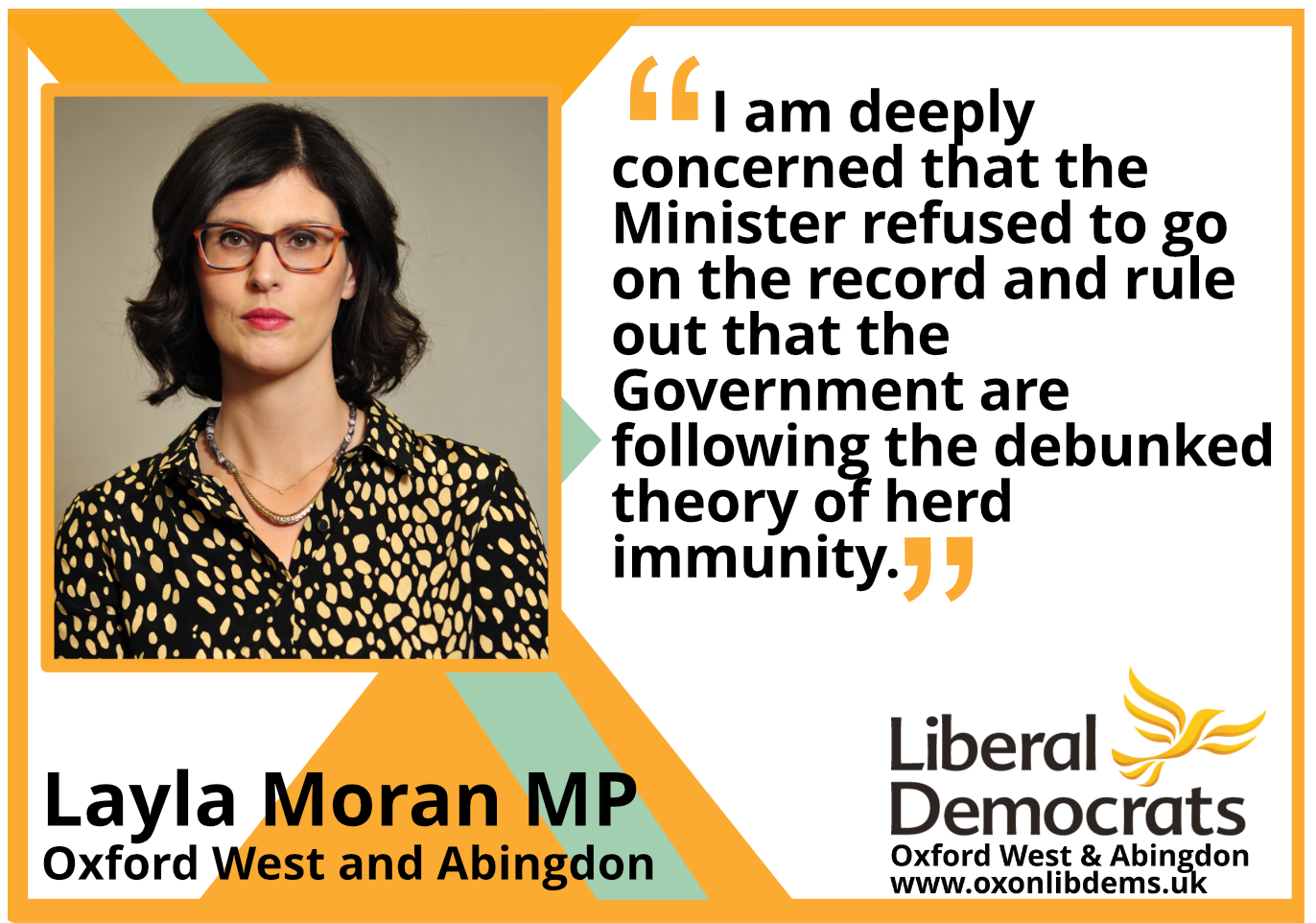 """key_I am deeply concerned that the Minister refused to go on the record and rule out that the Government are following the debunked theory of herd immunity.     """"It was deemed unattainable by the scientific community a long time ago."""