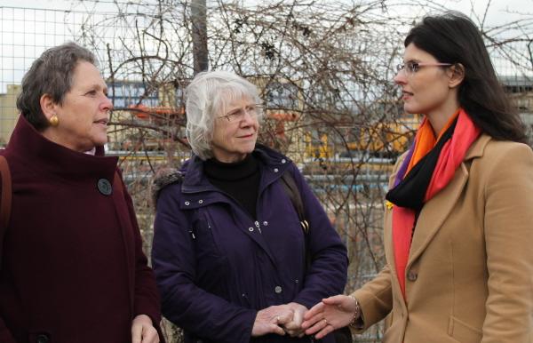 Layla, Jean & Baroness Kramer - Rail Development