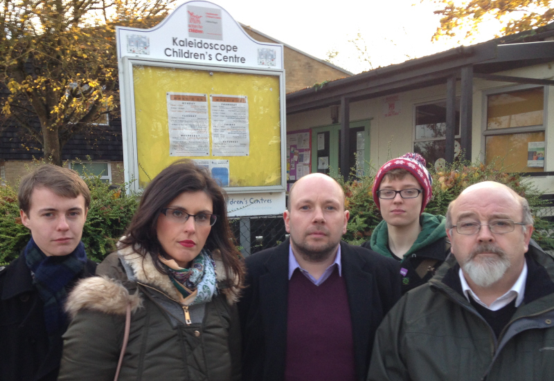 The Lib Dem team are fighting to protect the Kaleidoscope Children's Centre