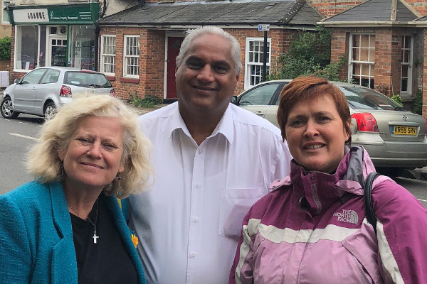 Oxford East Councillors Roz Smith, Altaf Khan and Stef Garden