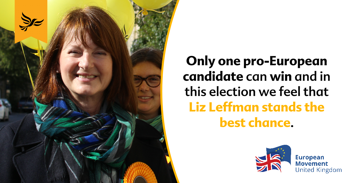 European Movement endorses Liz in Witney