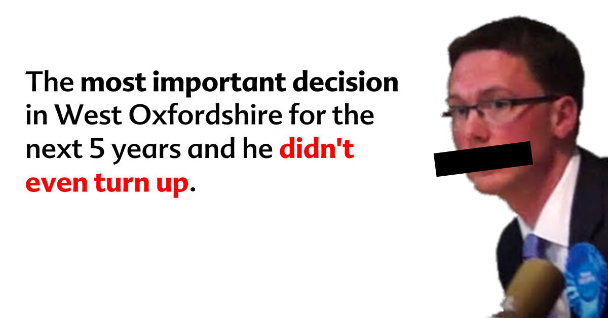 BREAKING: Council decision on massive West Oxfordshire development...