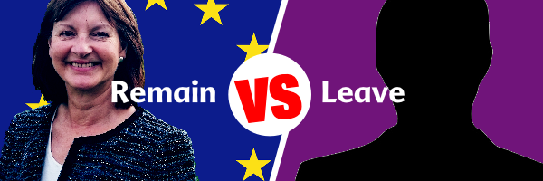 Liz voted Remain, the Conservative candidate voted leave