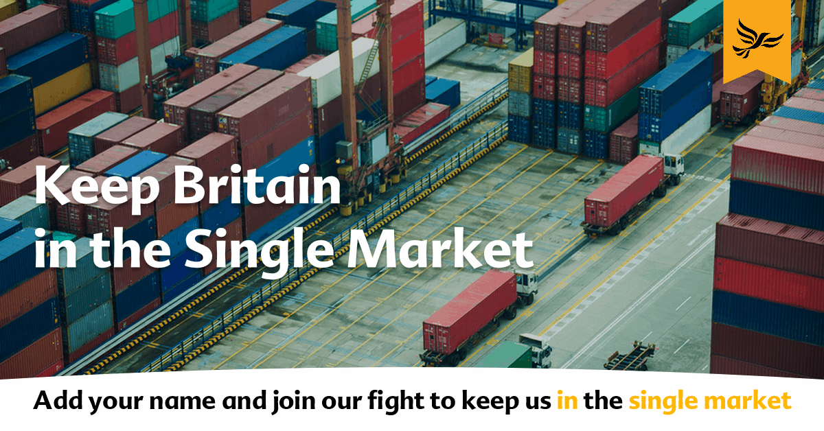 Keep Britain in the Single Market