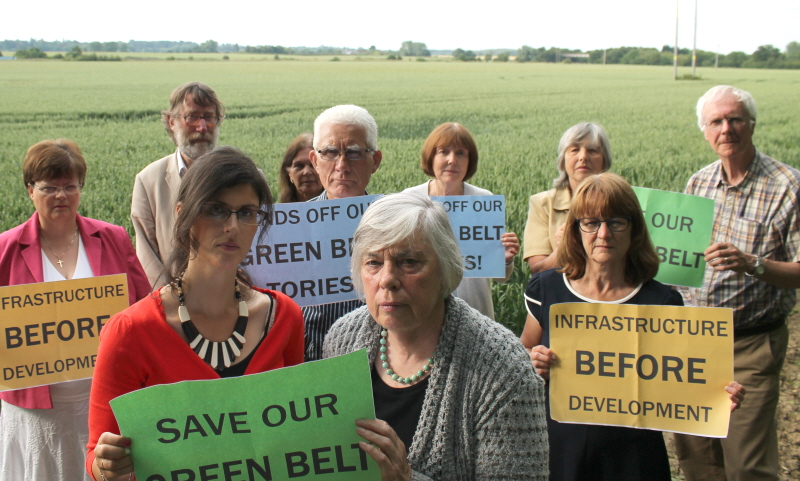 Tories to Bulldoze the Green Belt