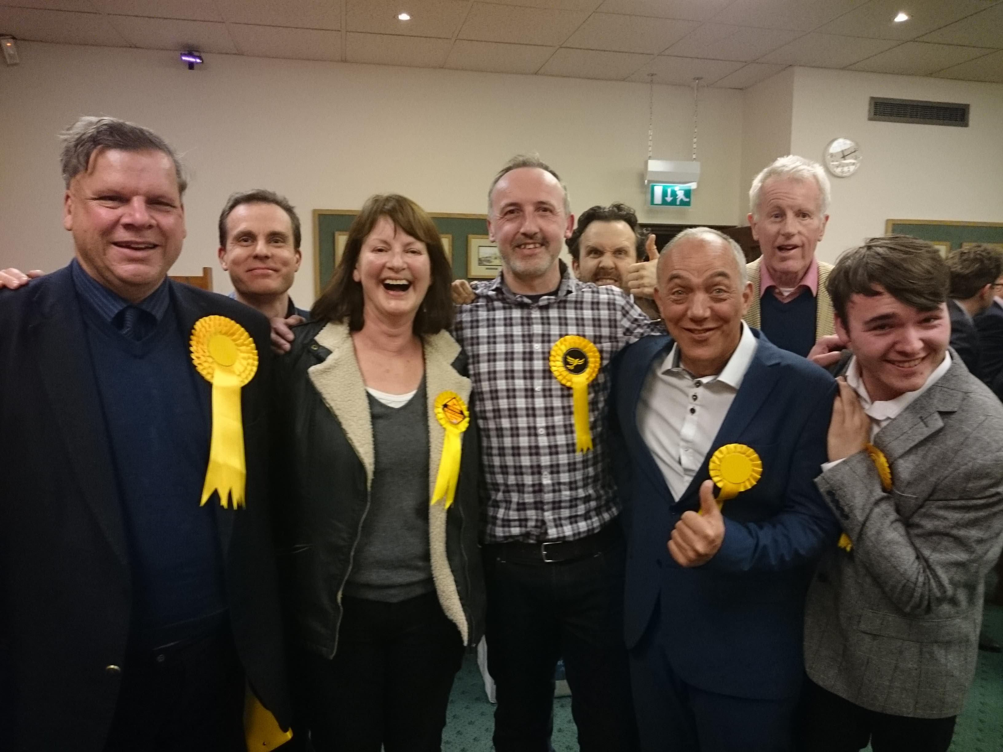 Liberal Democrat win in West Oxfordshire