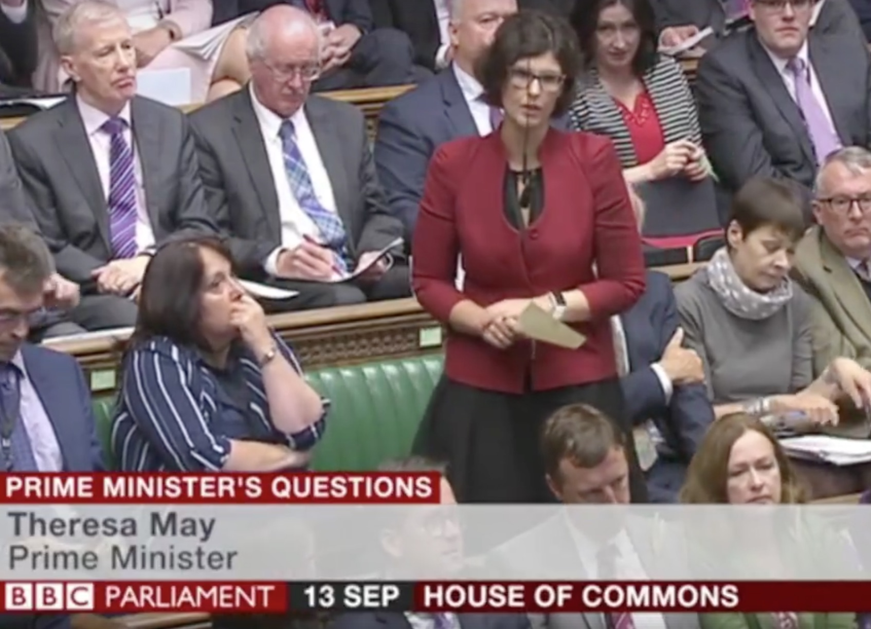 Oxford West & Abingdon MP Layla Moran, asks the Prime Minister about Brexit