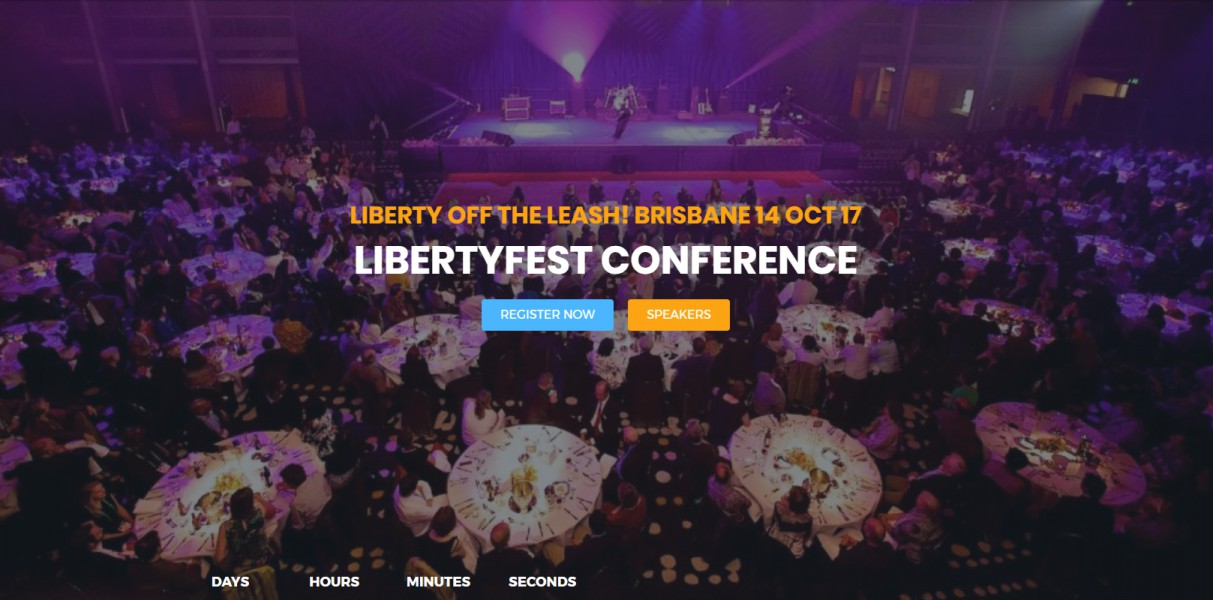 Liberty off the leash - Brisbane 14th October