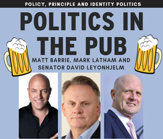 Politics in the Pub: Dick's Hotel Balmain - 1st Nov 2017