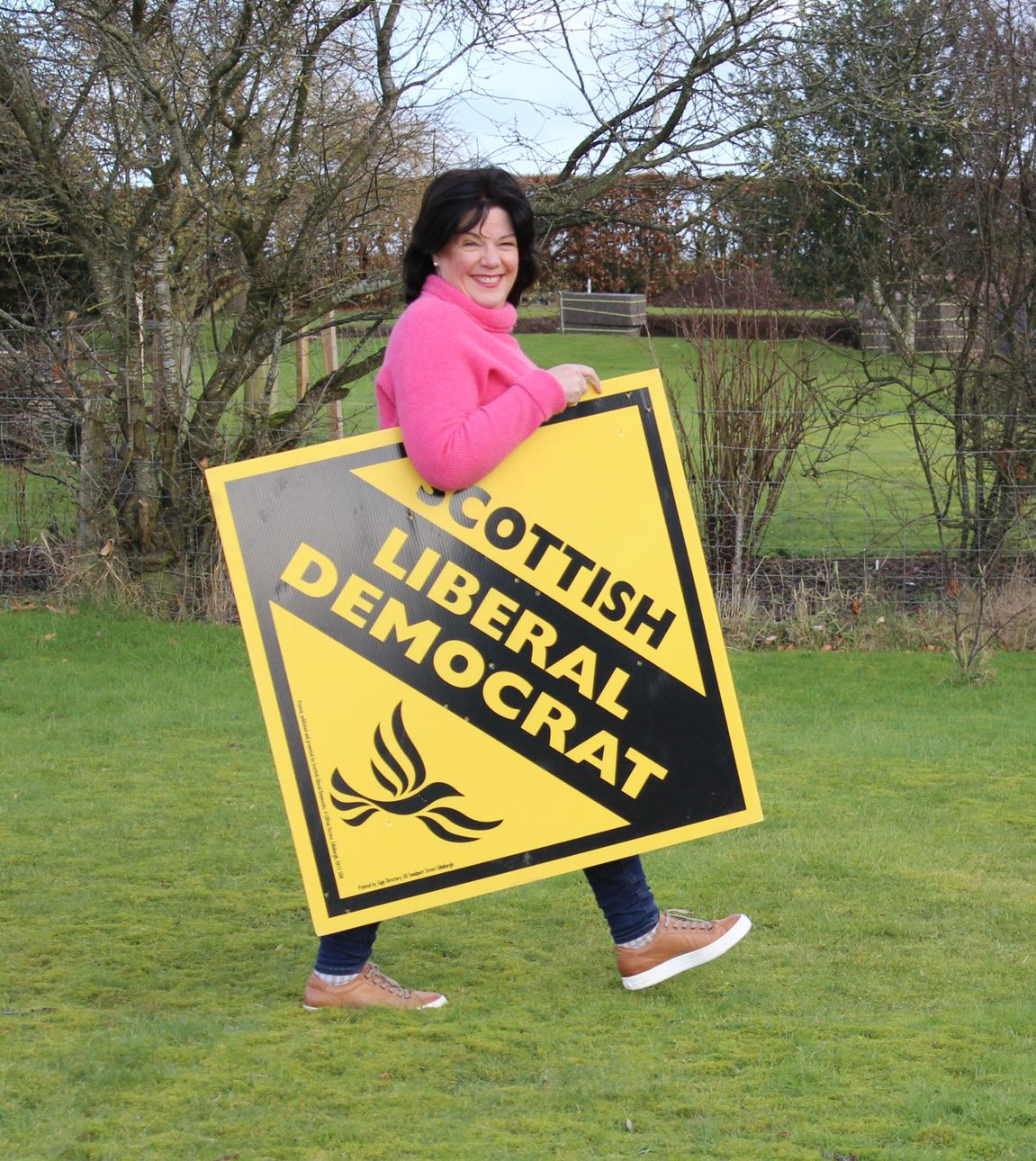Claire McLaren, Lib Dem Candidate for Almond and Earn