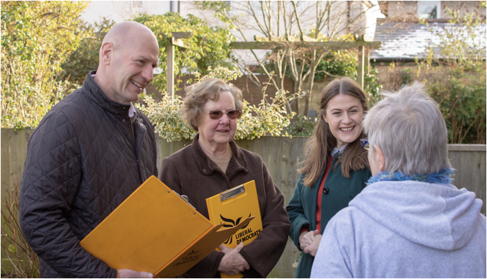 Introducing the Lib Dem candidates for Newtown & Heatherlands