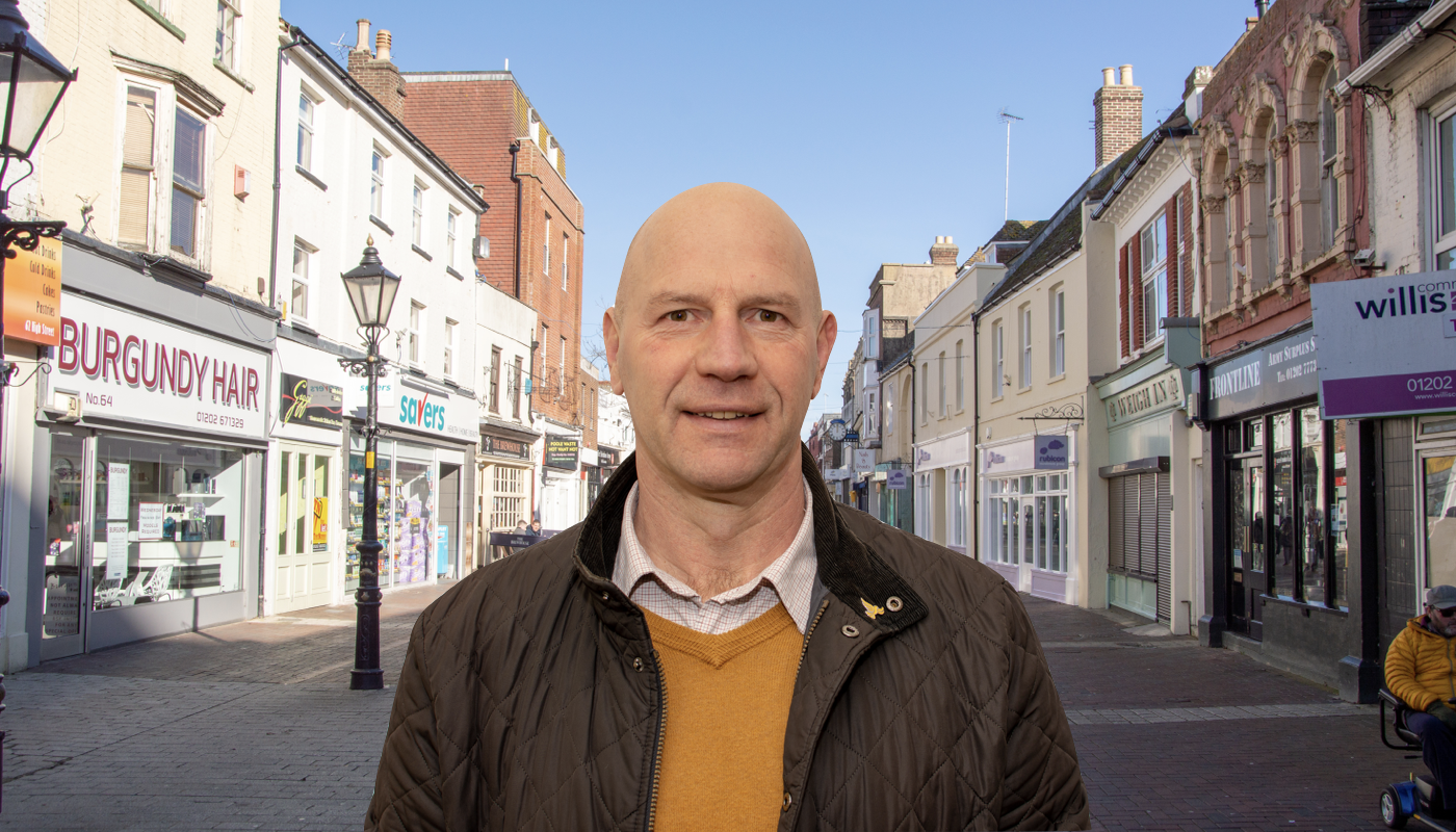 Poole Lib Dems demand action to boost town centre