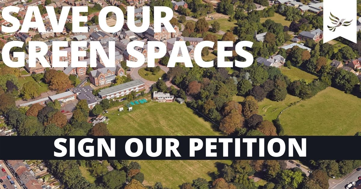 Save Our Green Spaces
