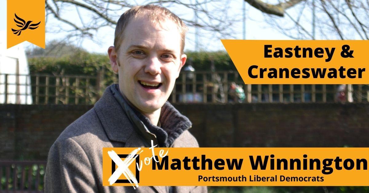 Your Eastney & Craneswater candidate Matthew Winnington
