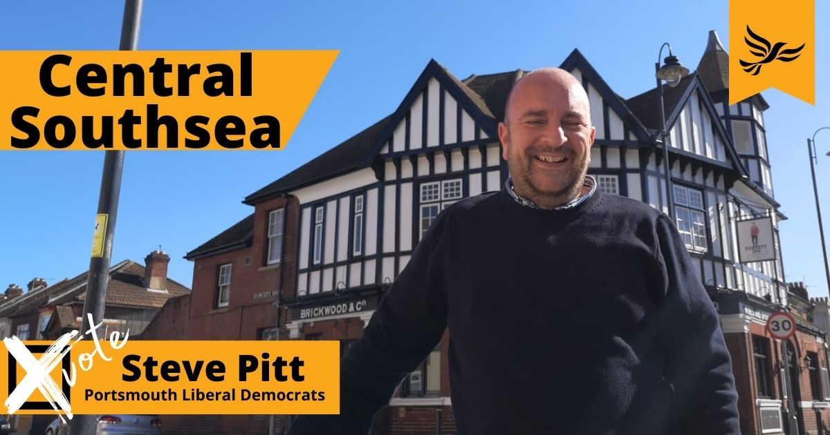 Your Central Southsea candidate Steve Pitt