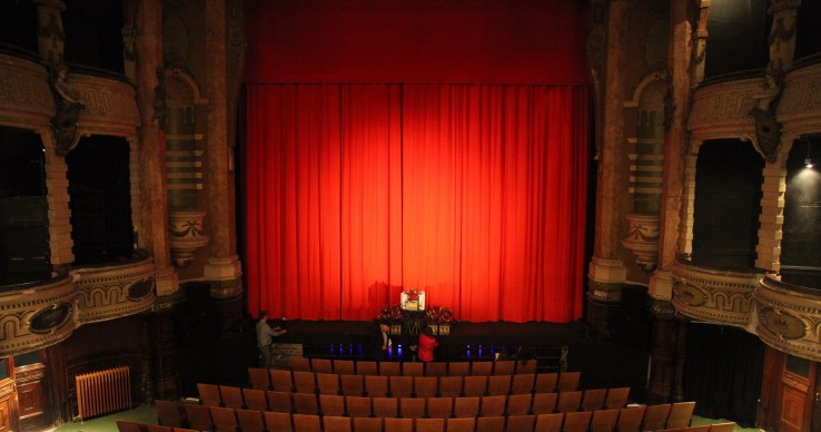 New Theatre Royal stage