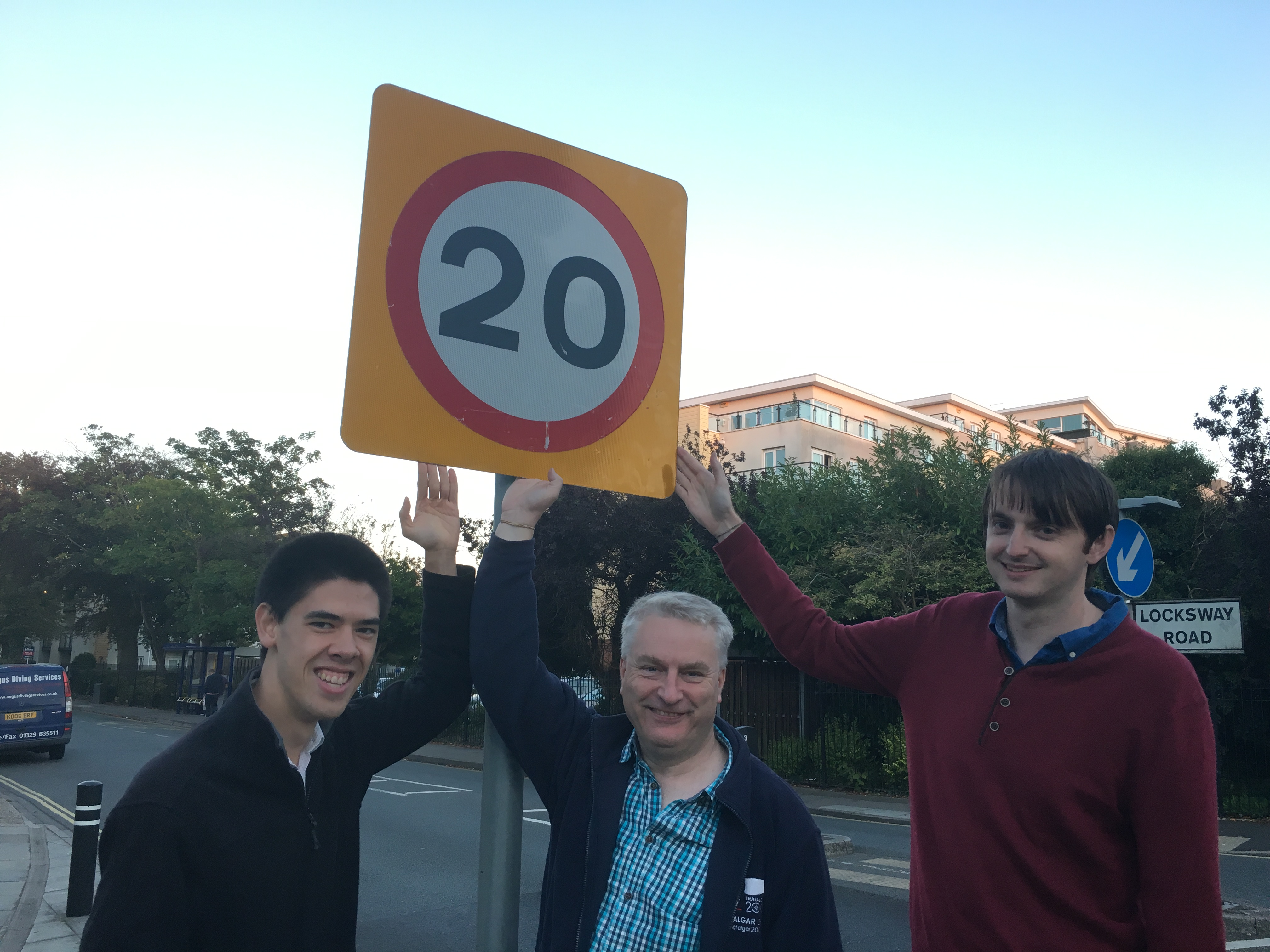 Tackling Speeding on Locksway Road