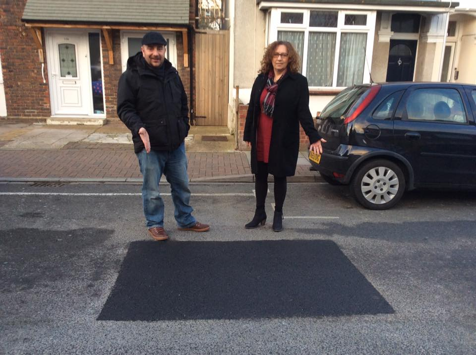 Potholes Fixed Thanks To Local Lib Dems
