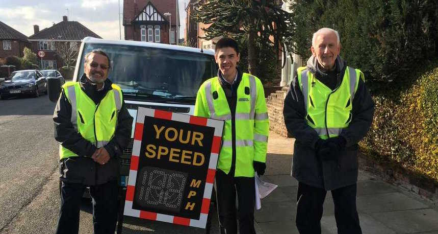 Community Speed Watch Gets Going