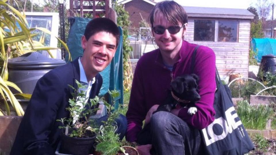 Allotments Plants Sale - A Great Success