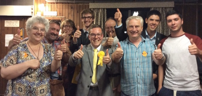 Portsmouth Lib Dems help New Forest candidate to victory