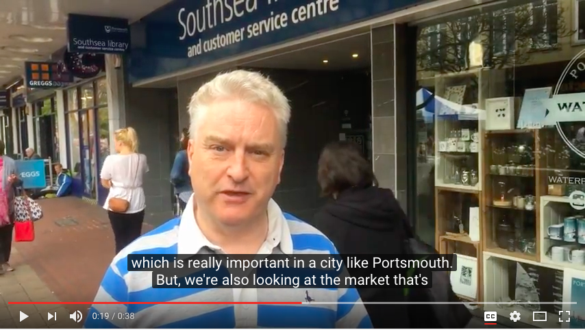 Gerald Vernon-Jackson Supports Local High Streets