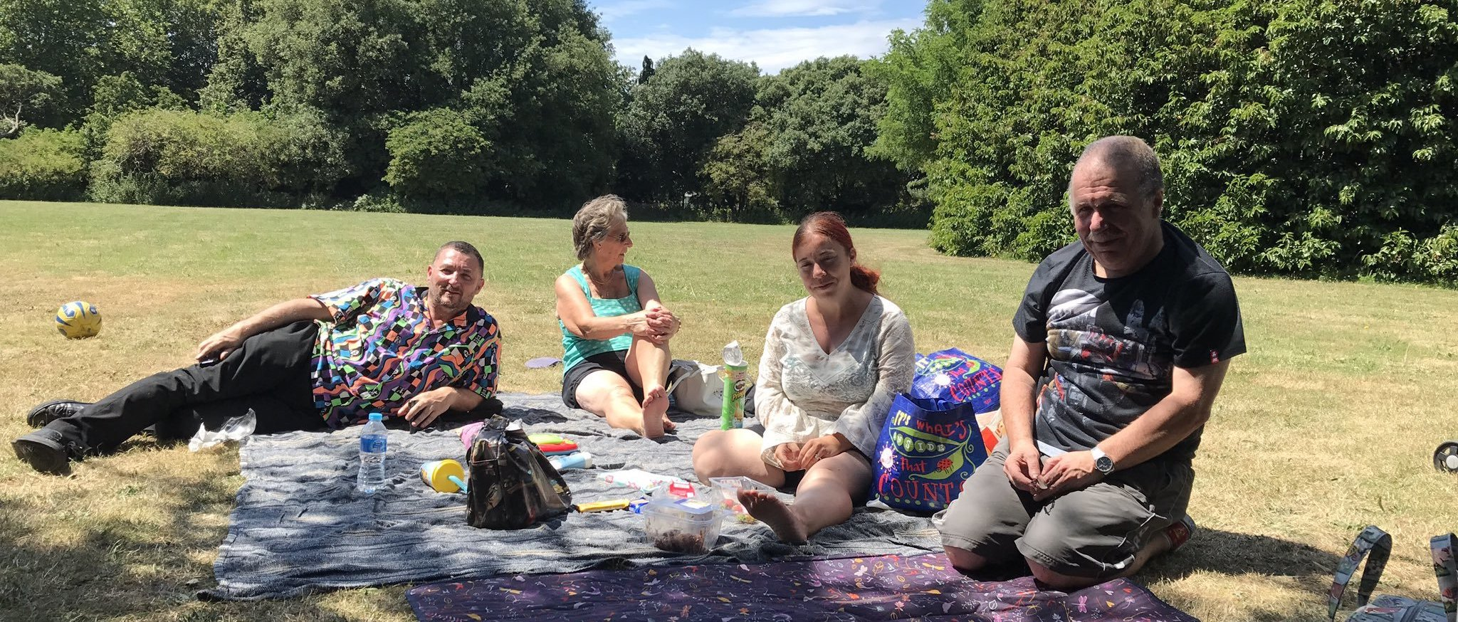 Local People Enjoy St James' For Summer Picnic