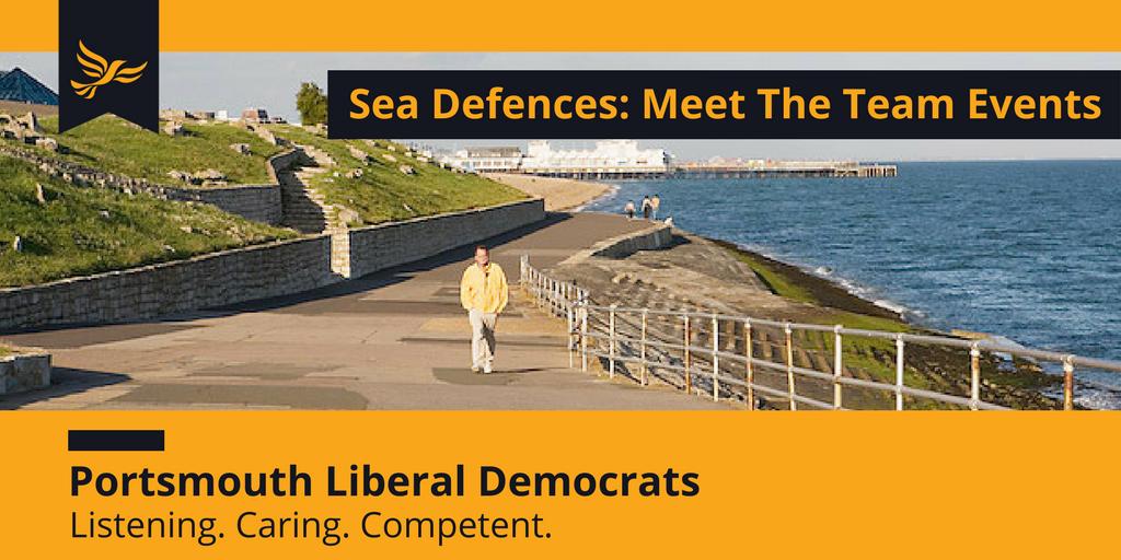 Southsea Flood Defences - Meet The Team Events