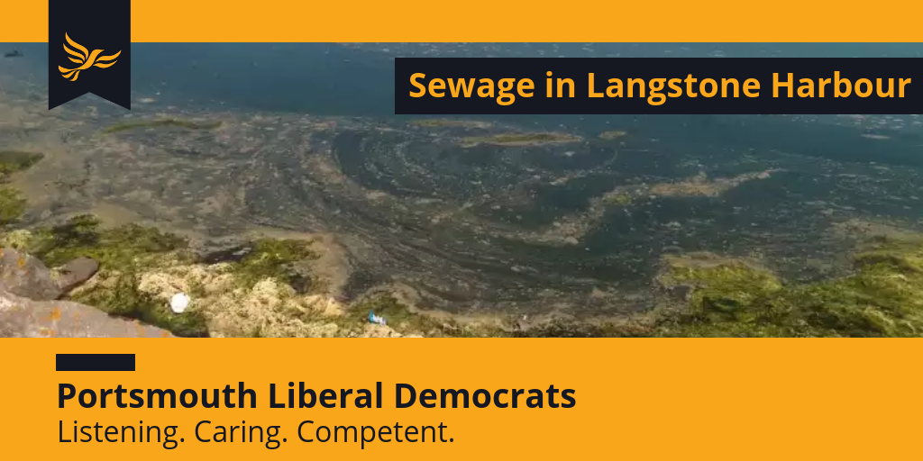 Stop Sewage discharge in Langstone Harbour