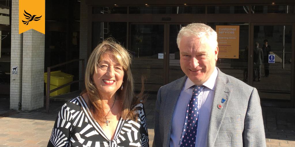 Councillor Jennie Brent Joins Liberal Democrats