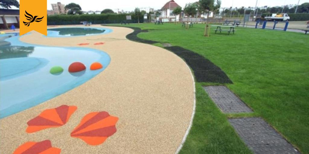 Steve Pitt announces investment for Southsea Splash Pool